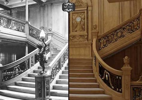 what does the of the interior do set titanic stairs newsfirelk