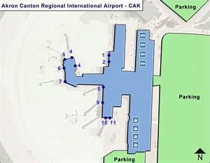 Parking 4 Cantons : cak akron canton regional airport terminal maps ~ Medecine-chirurgie-esthetiques.com Avis de Voitures