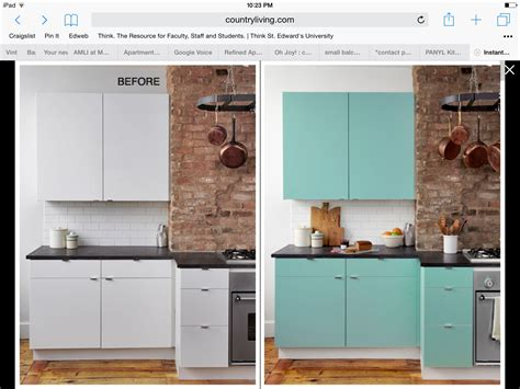 Kitchen Decorating Ideas For Renters by For Renters Contact Paper Kitchen Cabinet Makeover