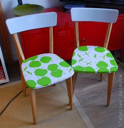 repeindre une chaise l atelier azimut 233