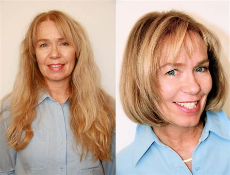 before and after haircuts before and after hairstyles hairstyles