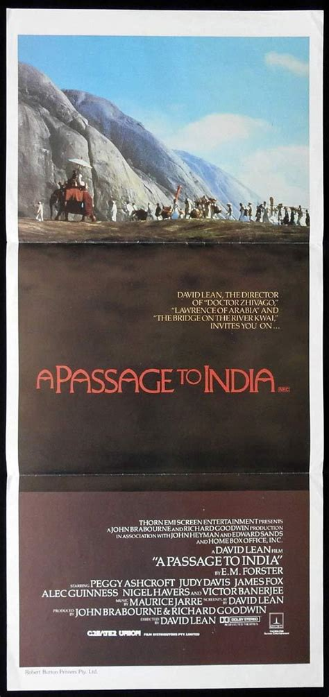 Davis first garnered acclaim for her performance in the period drama my brilliant career (1979). A PASSAGE TO INDIA Original daybill Movie Poster Peggy Ashcroft Judy Davis   Moviemem Original ...