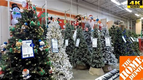Christmas At Home Depot-christmas Trees Inflatables