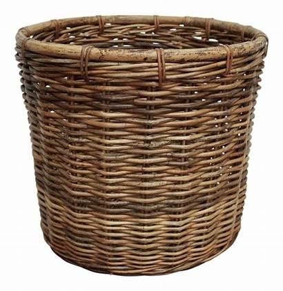 Wicker Planter Basket Laundry Chairish