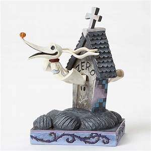 enesco disney jim shore nightmare before christmas zero With zero dog house