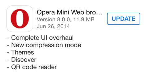 Salah satu browser yang sudah lama hadir dan menjadi banyak pilihan para pengguna internet adalah opera mini. Fitur apa saja yang terbaru dari Opera Mini untuk iOS ...