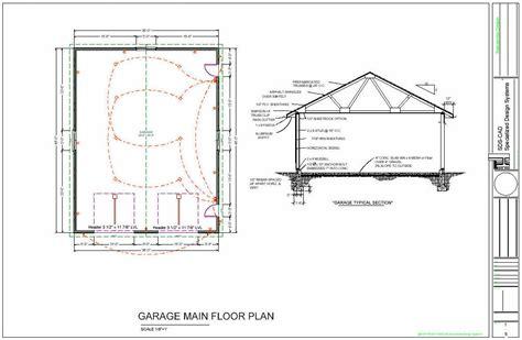 garage floor plans free 36 x 46 workshop garage floor plans blueprints