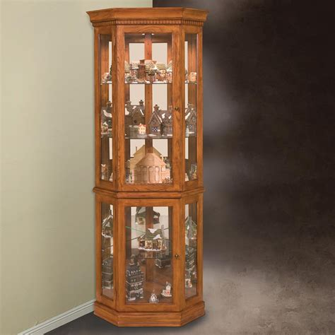 lighted curio cabinet for sale philip reinisch company 45951 lighthouse collection