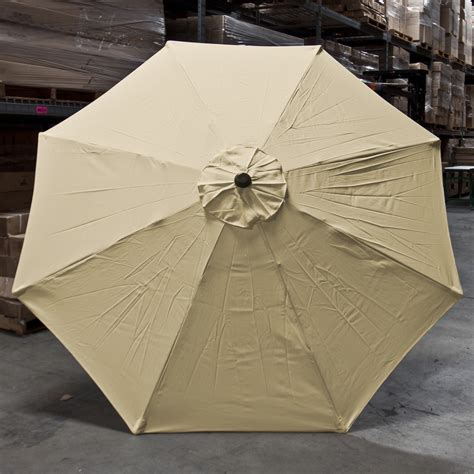 9ft market umbrella replacement canopy 8 ribs new patio market outdoor 9 ft 8 ribs umbrella cover canopy