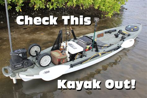 Pelican Boat Wheels by Ultimate Inshore Fishing Kayak Rigging Pelican Strike