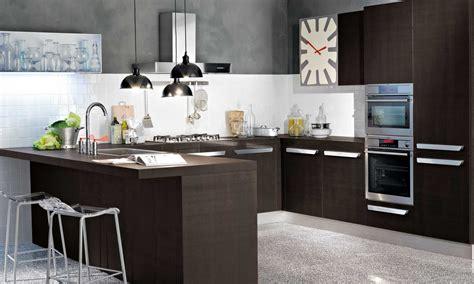 cocinas  peninsula mesa imagenes menu composizione