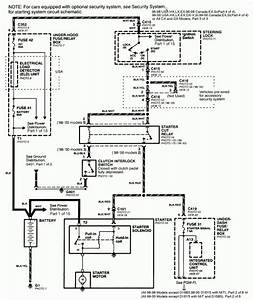 2005 Honda Odyssey Starter Wiring Diagram