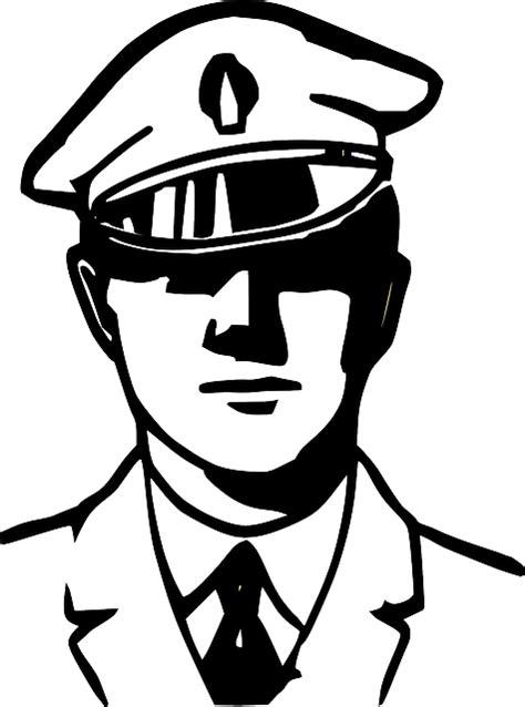 vector graphic police service officer arrest