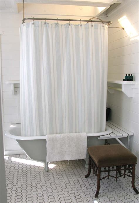 shower curtain solutions for clawfoot tub 187 a southern california