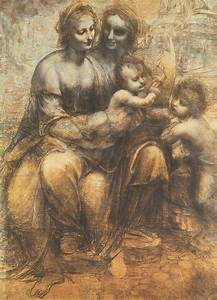 The Virgin And Child With Saint Anne And The Infant Saint ...