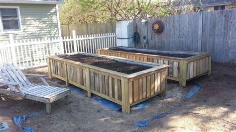 pallet garden bed 12 diy raised garden bed ideas