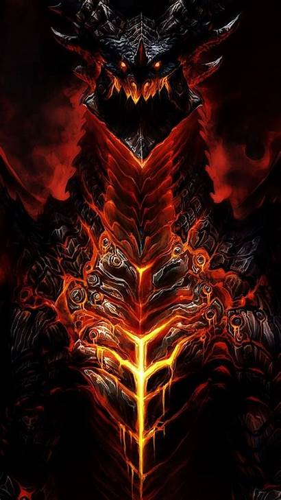 Iphone Wallpapers Warcraft Dragon Wow Demon Desktop