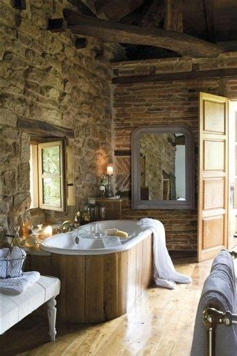 images  bathrooms rustic  pinterest log