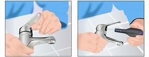 Changer Joint Mitigeur : r parer un mitigeur qui fuit la base et changer sa ~ Premium-room.com Idées de Décoration