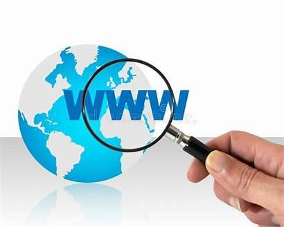 Internet Suchen Concept Zoeken Het Searching Recherche