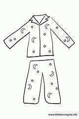 Coloring Pajama Printable Pajamas Spongebob Pdf sketch template
