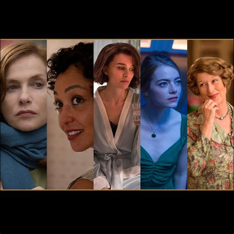 actress   leading role nominations  oscars oscars