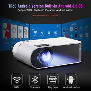 Mini Projector Smart Consumer Electronics Wifi Home Cinema