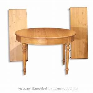 Esstisch Rund Ausziehbar Holz : est 17 r esstisch tisch rund ausziehbar landhausstil massivholz ~ Bigdaddyawards.com Haus und Dekorationen