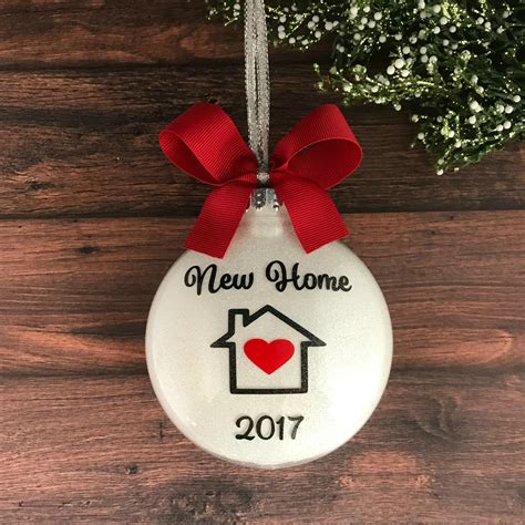 new home ornament christmas ornament personalized
