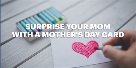 surprise  mom   mothers day card lucidpress