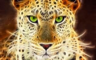 Cheetah with Green Eyes