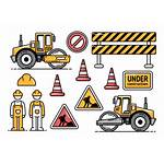 Construction Road Icon Icons Highway Roller Equipment