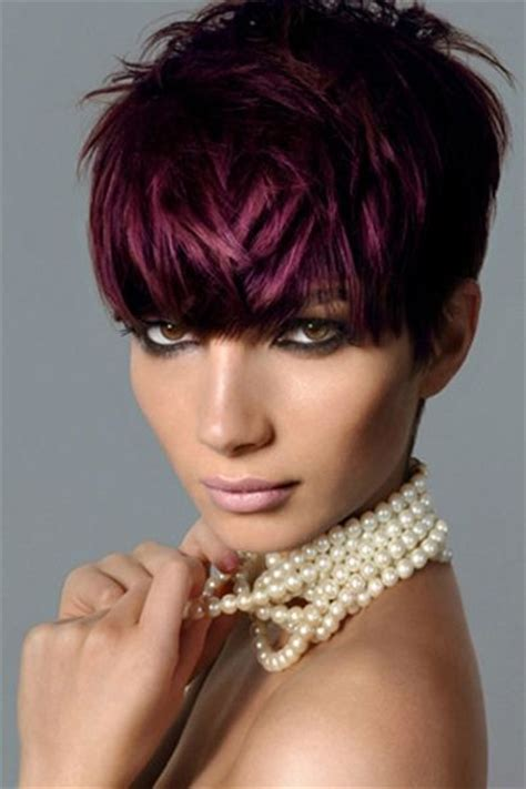 pixie cut hair color 115 best black and crimson hair images on hair