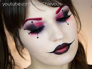 Julia Graf: Harley Quinn Halloween Makeup