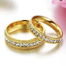 wedding rings sets his and hers aliexpress buy anelli diamanti gold wedding rings for and his and hers