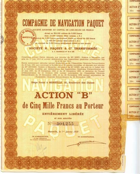 Compagnie Nouvelle De Navigation Compagnie De Navigation Paquet