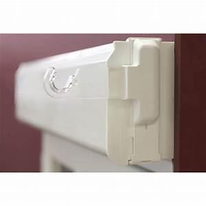 Barre Rideau Fixation Plafond : lot de 2 supports sans per age tringle rideau 20 28 mm ~ Premium-room.com Idées de Décoration