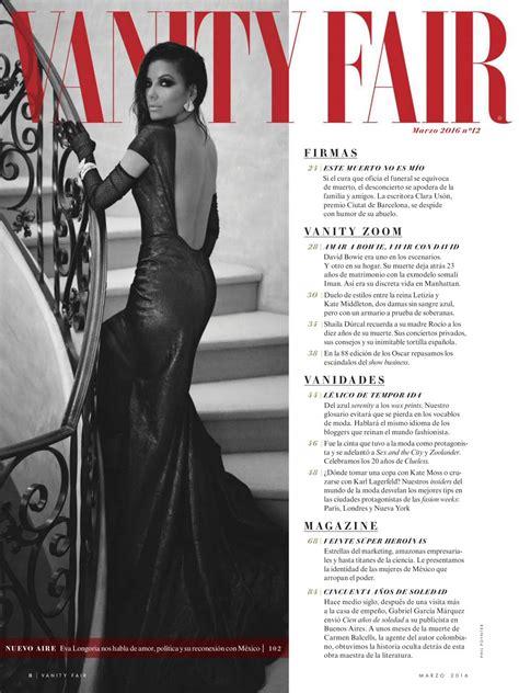 vanity fair mexico longoria vanity fair magazine mexico march 2016 issue
