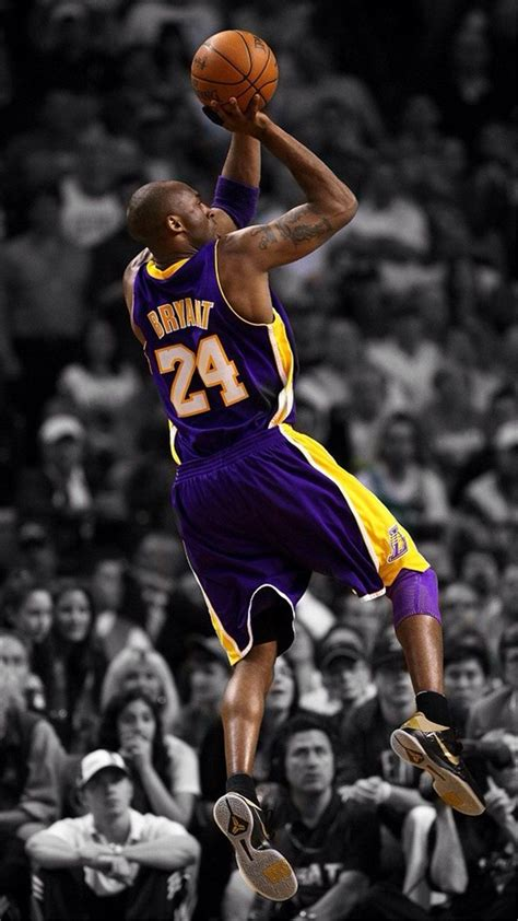 NBA Super Star Brant Kobe Show iPhone 6 Wallpaper Download ...