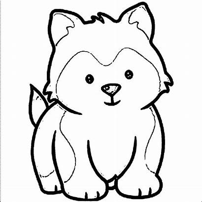 Coloring Dog Puppy Cartoon Ages Azcoloring Via