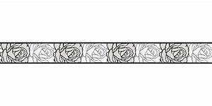 Tapeten Bordüre Weiß : tapetenborte bord re rose wei schwarz as 9050 24 ~ Orissabook.com Haus und Dekorationen