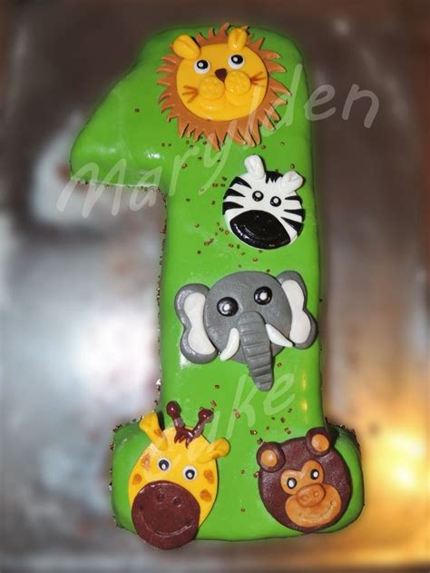marylden cake cake design g 226 teau en p 226 te 224 sucre avec des animaux de la jungle z 232 bre