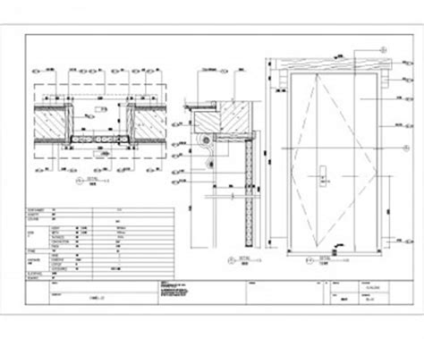 Door cad detail Cad & Autocad blocks