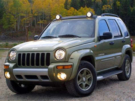 2003 Jeep Cherokee Renegade Car Desktop Wallpaper Auto