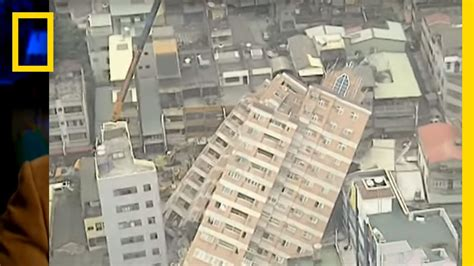 earthquake destruction national geographic youtube