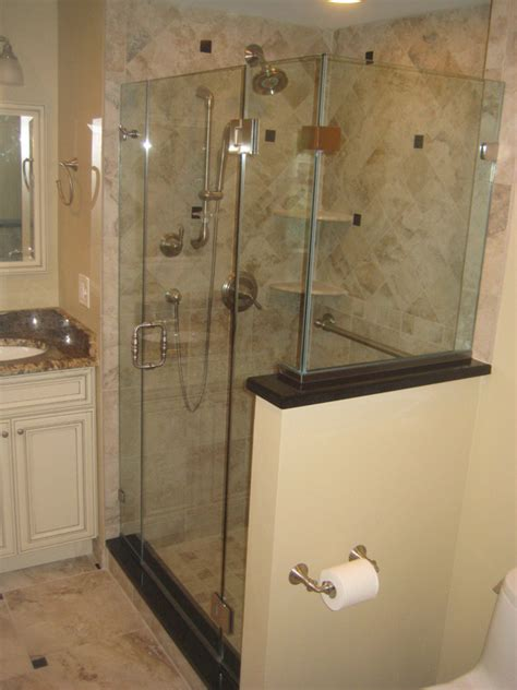 neo angle shower glasstec shower and tub door enclosures century