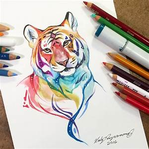 Sparkly Tiger by Lucky978 on DeviantArt