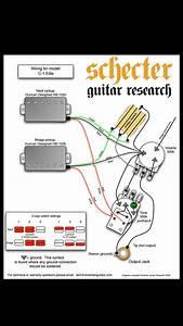 Schecter Solo Guitar Wiring Diagram