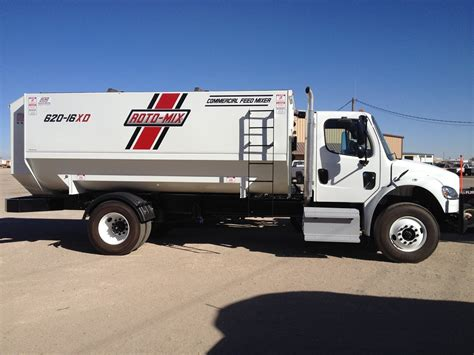 New Roto-mix Truck And Trailer Units