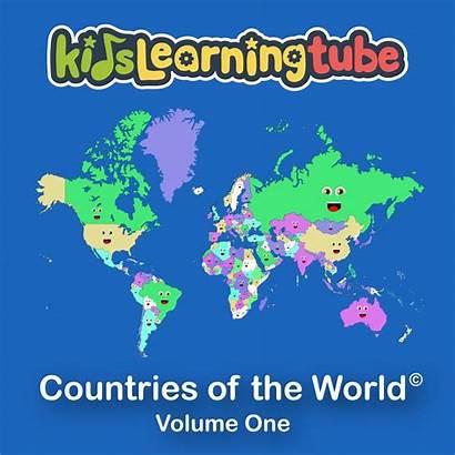 Countries Album Learning Tube Digital Volume Iii